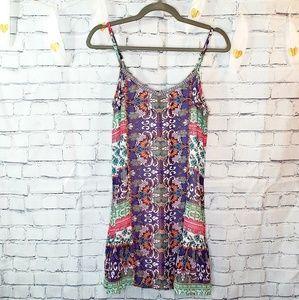 American Rag Paisley Print Shift Dress